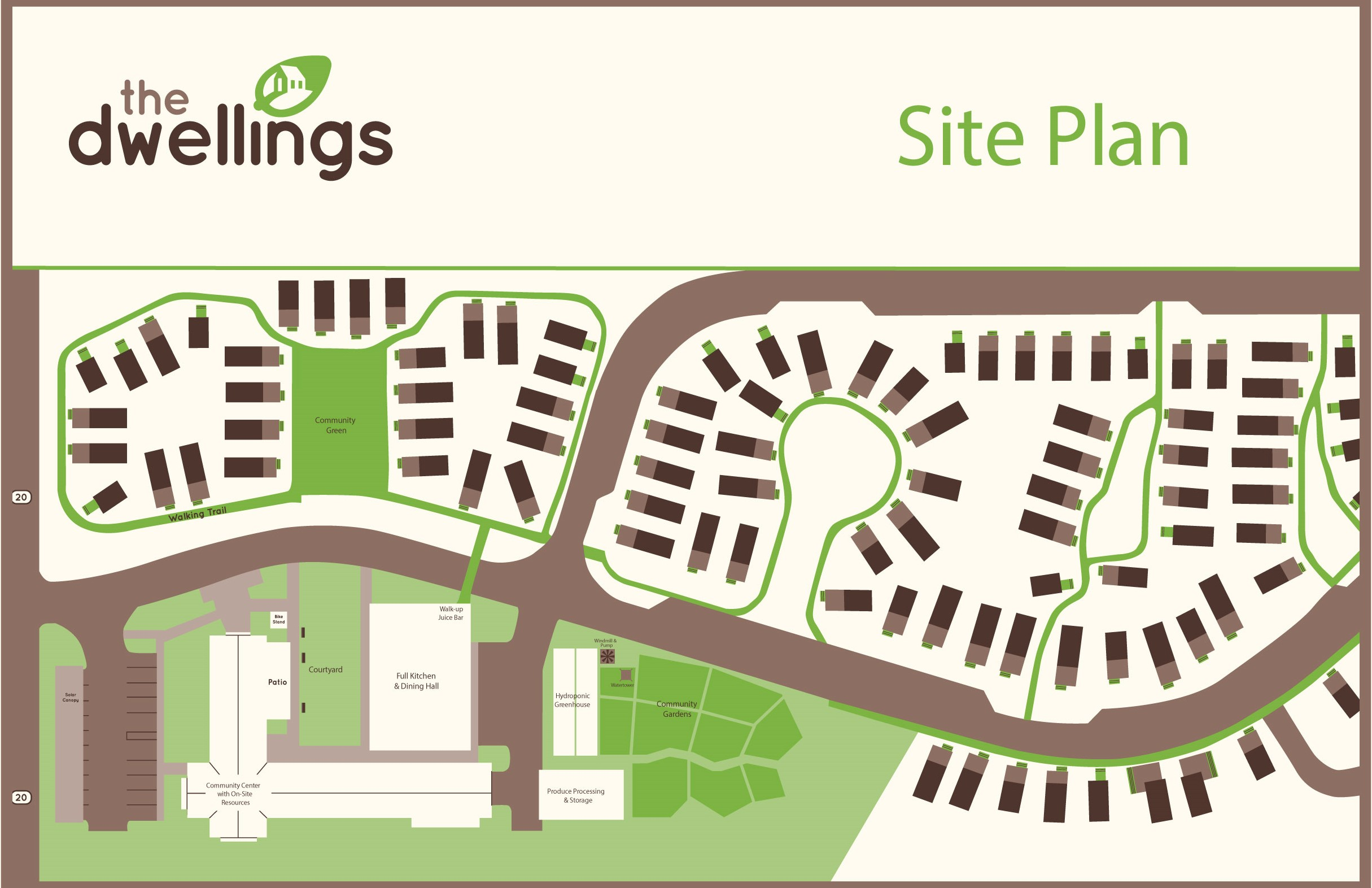 The Dwellings in Tallahassee site map